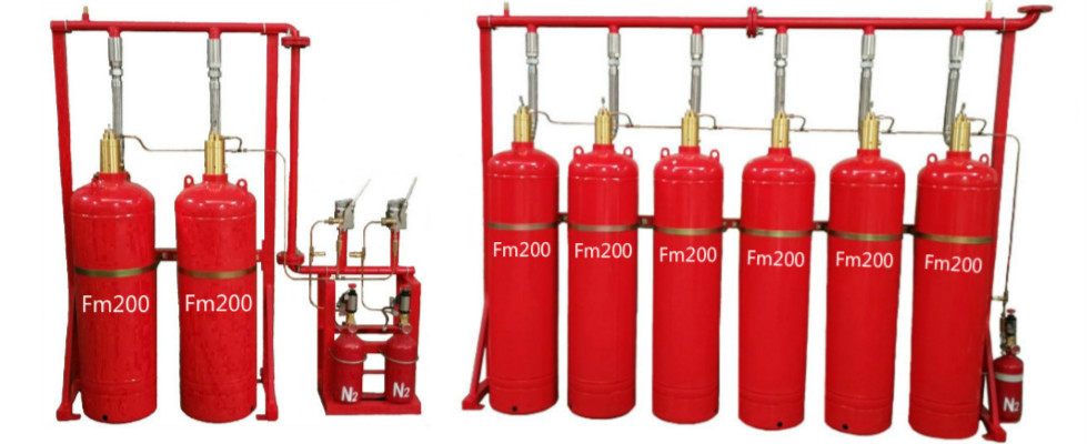 China best FM200 Fire Suppression System on sales