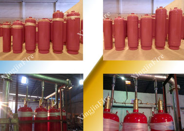 Insulated FM 200 Fire Suppression System Without Residue And Pollution supplier