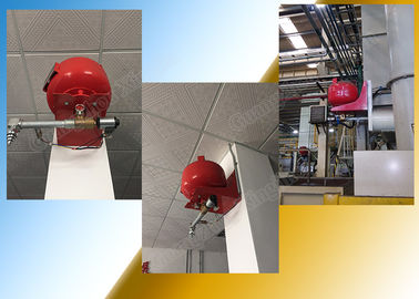 Suspension Hfc227Ea Firefighting Equipment Fm200 Fire Suppression System Electrical Controlled supplier