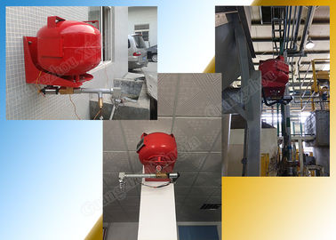 Data Center FM200 Fire Suppression System with 40 Hanging Tank supplier