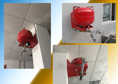 Non Corrosive HFC 227ea Fire Extinguishing System FirefightersEquipment supplier