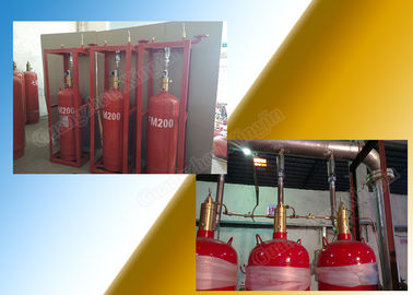 Heptafluoropropane 5.6Mpa Fm200 Gas Suppression System With Pipeline supplier
