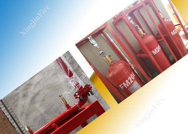 5.6Mpa Industrial Fm200 Fire Extinguisher System With 70L Cylinder supplier