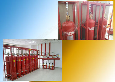 Tasteless Piping Fm200 Fire Suppression System Pipe Network System supplier