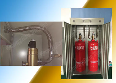 China Low Toxicity Solo Fm-200 Fire Suppression Systems With 180L Storage supplier