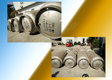 Colorless Heptafluoropropane Fire Suppression in Storage Container supplier