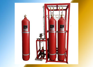 Working Pressure 15MPa Inert Gas Fire Suppression System / IG541 Fire Suppression System