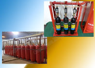 China Enclosed Flooding FM 200 Suppression System Piped for Single Zone company