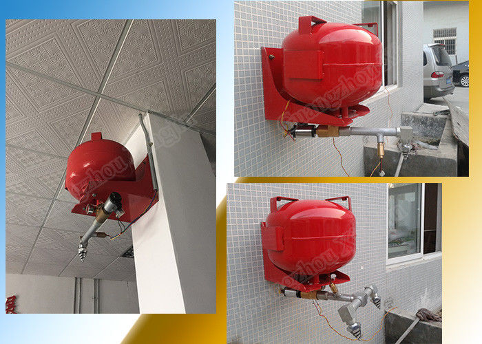 20L Hanging Fm200 Automatic Suppression System Heptafluoropropane