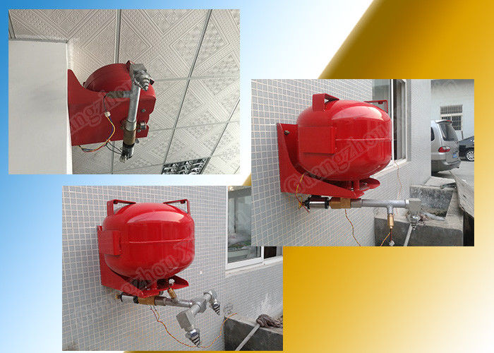 Electromagnetic Hfc227Ea Automatic Fire Fighting System In Suspension