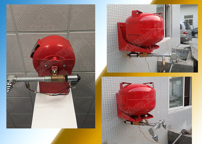Automatic HFC 227ea Fire Extinguishing System Of 40L Suspension Tank