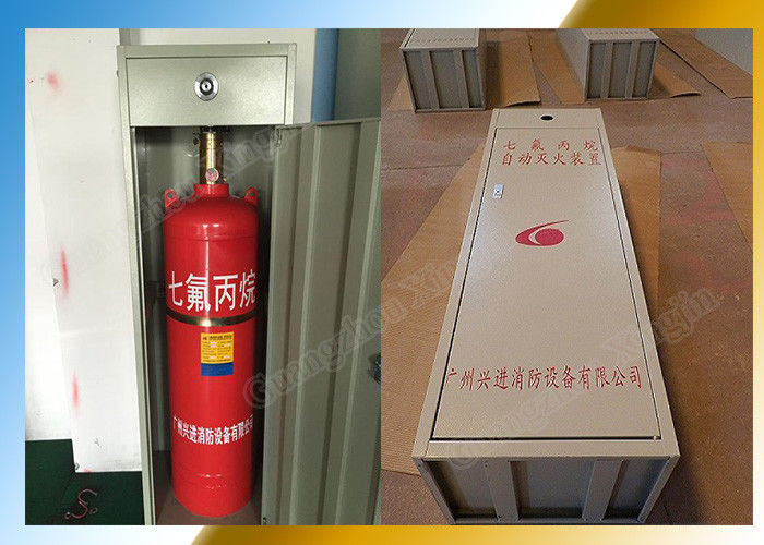 Industrial Heptafluoropropane Fire Suppression Fm200 Cabinet Type