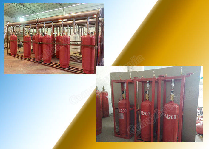 China Single Zone 5.6Mpa Hfc227Ea Fire Suppression Systems For Cargo Hold factory