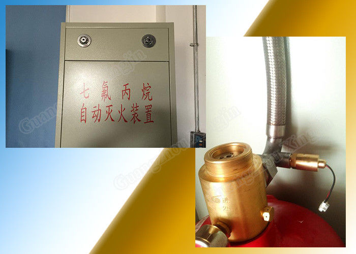 China 120L Hfc 227ea Fire Extinguishing System For Independent Zone factory