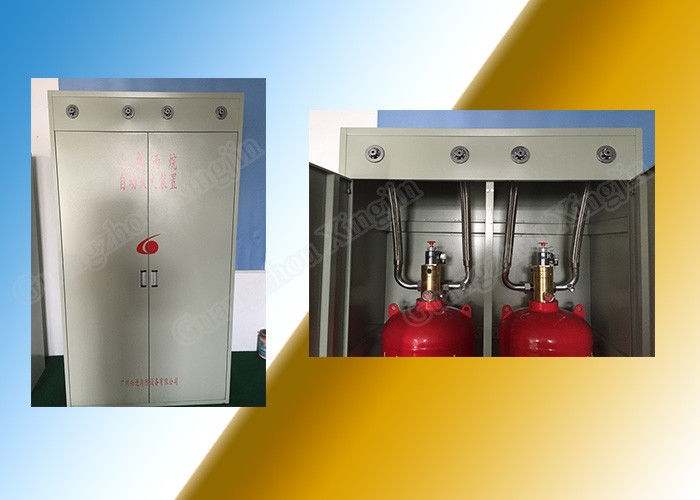 Custom Colorless Hfc 227 Fire Extinguishing System of 70L Cabinet