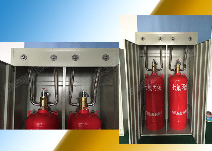 China 40L Double Cabinet Clean Agent Fire Extinguishing System Fm 200 factory