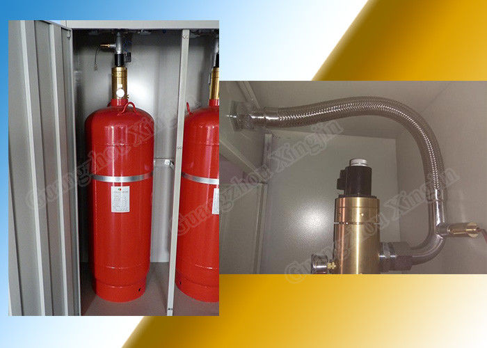 2.5Mpa Fire Suppression System Fm200 120L Single Cabinet Type