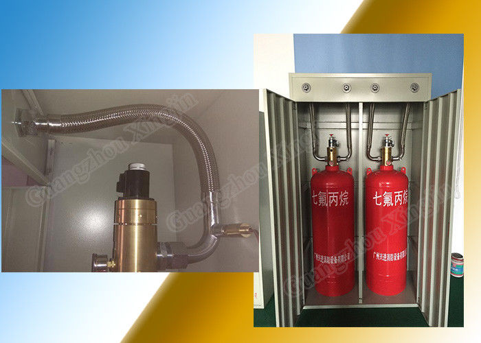 China Low Toxicity Solo Fm-200 Fire Suppression Systems With 180L Storage factory