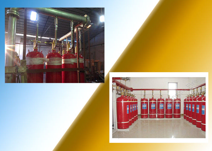 China Industrial 70L Model FM200 Gas Suppression System Hfc 227 Gas factory