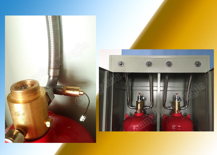 China Automatic Hfc227ea Fire Suppression System with Cabinet Doubled factory