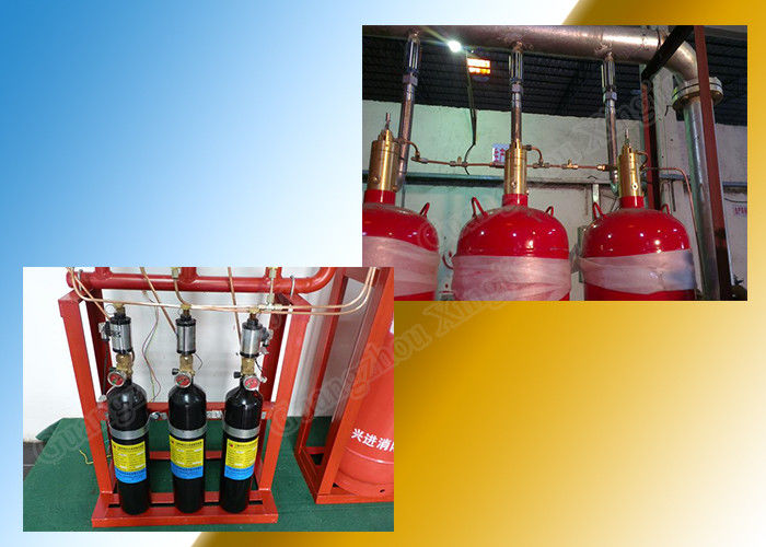 5.6Mpa 40L Type FM200 Gas Suppression System Heptafluoropropane