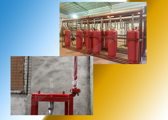 China Multiple Zones Network Hfc227ea Fire Suppression System DC24V / 1.6A factory