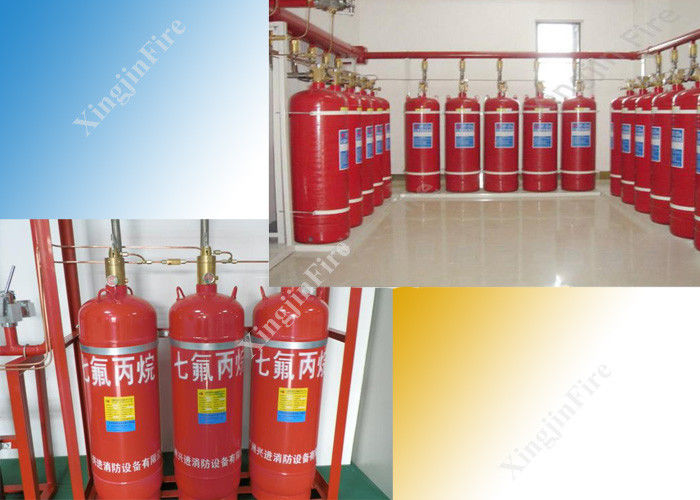 China Fm200 Automatic Fire Extinguishing System Multi Zone Controlled factory
