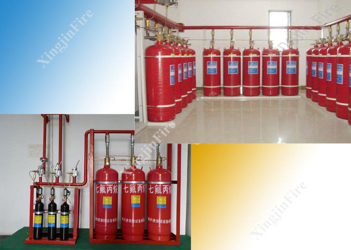 China Optional Zones Management Hfc227ea System of 4.2mpa Cylinder factory