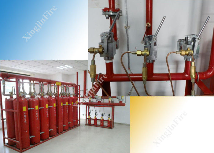 5.6mpa Hfc-227ea FM200 Gas Suppression System Worked for Single Zone