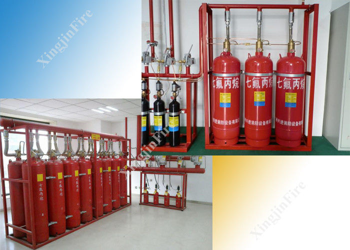 5.6Mpa Residential Hfc-227Ea Extinguishing System 180L Storage