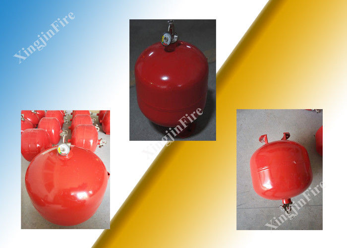China 8L Electric Automatic Fm200 Fire Extinguisher Controlled by Temperature factory