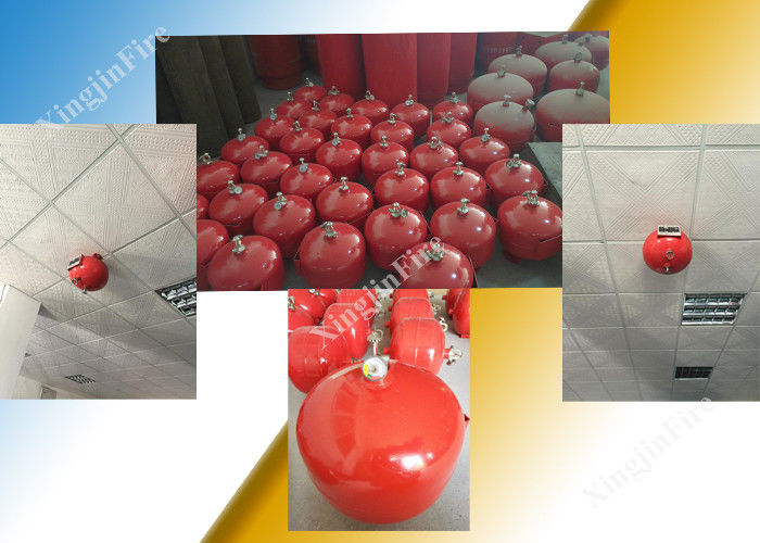 China Heptafluoropropane / Fm200 20L Automatic Fire Extinguisher of Hanging Tank factory