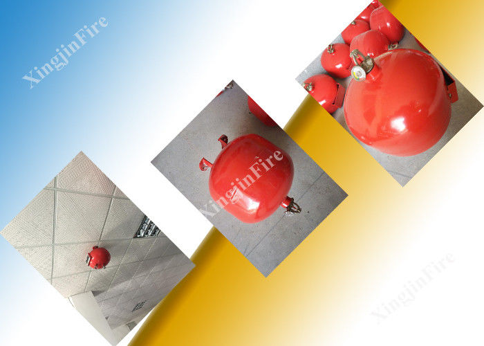 China Red Round Fire Extinguisher For Commercial Kitchen Fire Extinguishing System factory