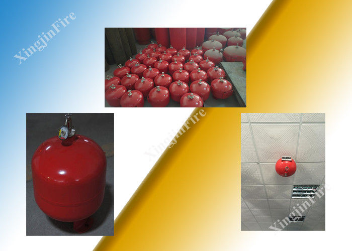 China Stand Alone Fm200 System Auto Fire Extinguishers 40L Volume For Server Room factory