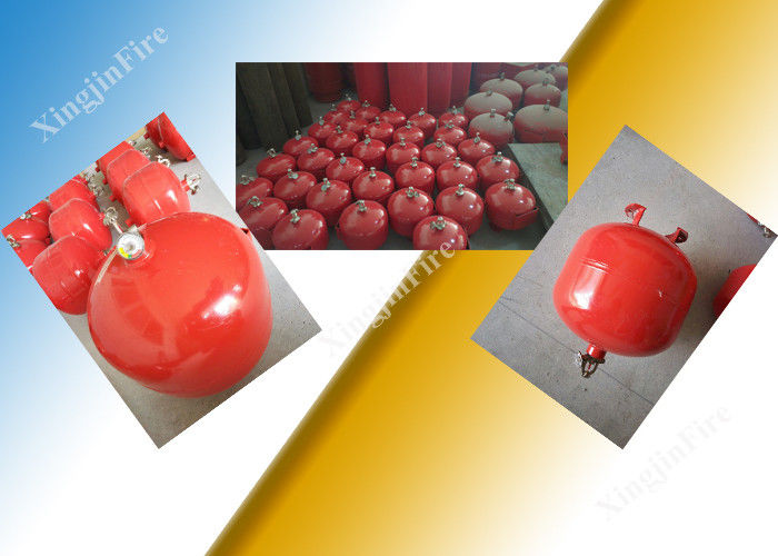 30L Tank Automatic FM200 Fire Extinguisher For Electronic Computer Room