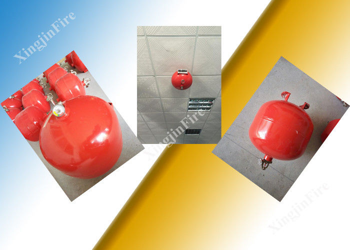 China Sensitive Red 30L Fm200 Fire Extinguisher Auto Electrical Or Manual StartingModel factory
