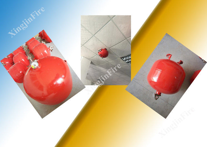 China Suspension Automatic Fm200 Fire Extinguisher 30L Container Single Zone factory