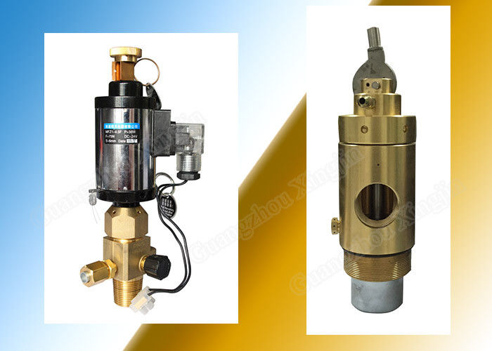 Manually Actuated 2Mpa Fm200 Container Valve High Performance