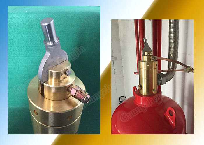 Fm200 Automatic Fire Extinguisher Ball Valve with Solenoid Actuator