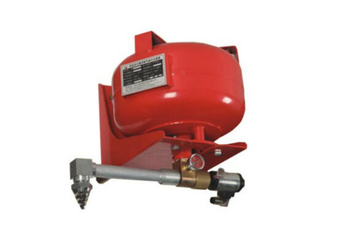 30L Red Hanging Cylinder FM200 HFC227ea Fire Suppression System For Small Single Zone