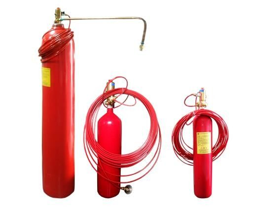 Indirect Or Direct Type Standard Fm200 Fire Suppression System For Equipment Cabinet