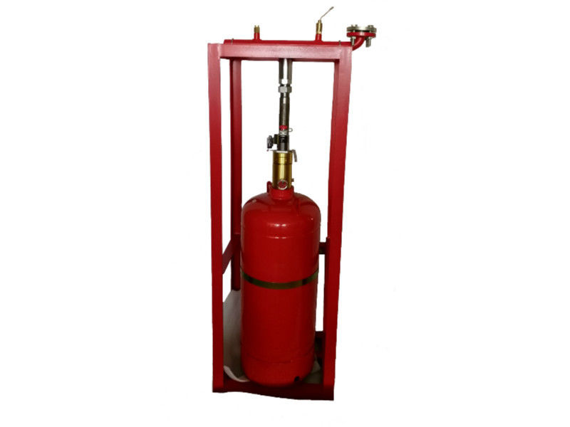 Pure Hfc - 227ea Agent FM200 Fire Extinguishing System For Single Occupied Zone Non Toxic