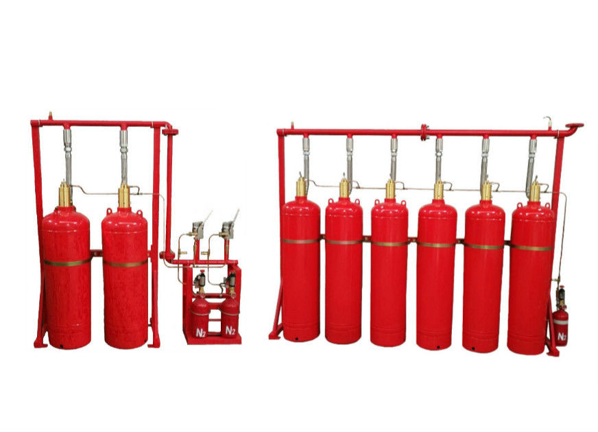 Three Activated Mode Hfc-227ea Fire Suppression System Pipe Network Type OEM