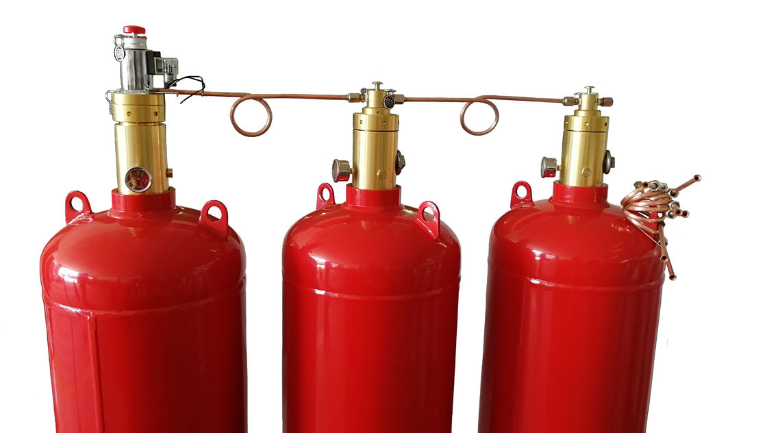 China Three Activating Mode FM200 Fire Suppression System Without Driving Device factory