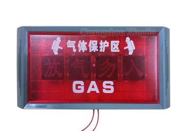 China Discharge Indicate Light FM 200 Fire Alarm System For Control Panel distributor