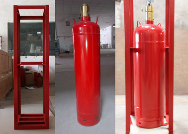 China Piping Hfc-227ea Fm200 Fire Extinguishing System For One Zone distributor