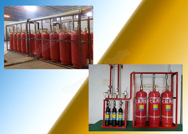 China Manual / Automatic  FM200 Fire Suppression System Of 4.2Mpa 40L Type distributor