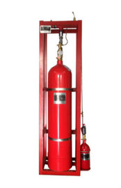 China Single Zone Pipe Network FM200 Fire Suppression System For Telecommunication Rooms distributor