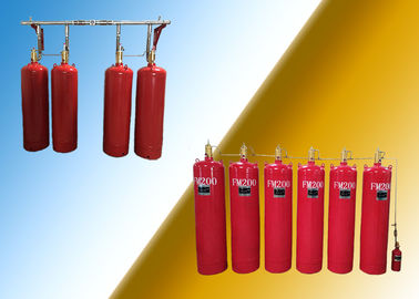 China Museum 90L FM200 Fire Suppression System factory