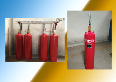 China Red 180L HFC 227EA FM200 Fire Suppression System factory
